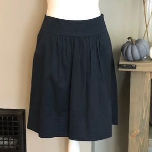 Anthropologie Odille pleated skirt